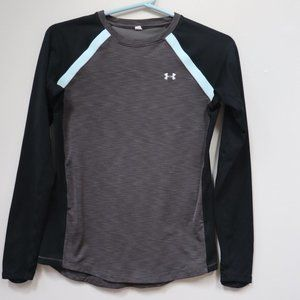 Under Armour Boys Gold Gear LS crew Size S